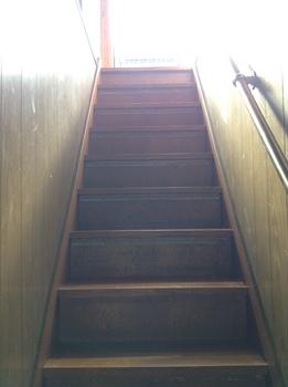 中央区葛城貸家一階から見る