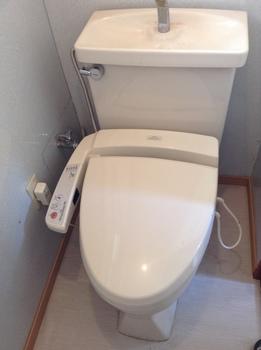 中央区葛城貸家トイレ